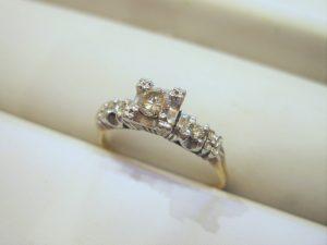 リフォーム前のダイヤモンドリング