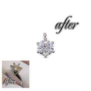ダイヤモンドジュエリーリフォームの価格目安の事例⑤