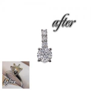 ダイヤモンドジュエリーリフォームの価格目安の事例⑧